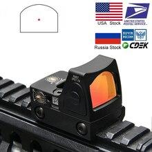 Мини RMR Red Dot прицел коллиматор Глок/винтовка рефлекторный прицел 20 мм Вивер рельс для страйкбола/Охотничья винтовка