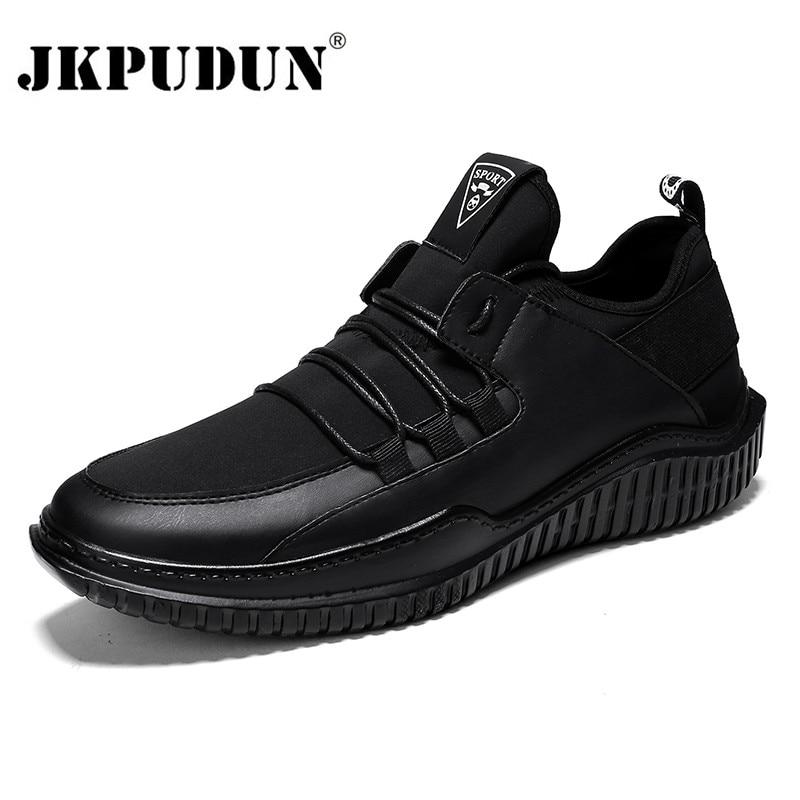 f7f17e3e2fb1 JKPUDUN Men Shoes Casual Luxury Brand Mens Trainers 2018 Designer Mesh  Breathable Shoes Men Sneakers Zapatillas Hombre Superstar