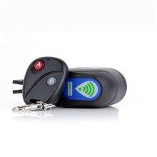 Professional Anti theft Bike Lock Cycling Security Lock Wireless Remote Control Vibration font b Alarm b