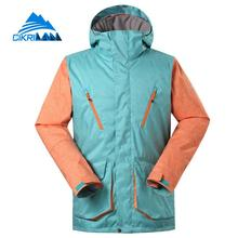 Winter Hiking Skiing Snowboard Windstopper Waterproof Jacket Men Outdoor Sport Padded Jackets Camping Ski Hooded Coat