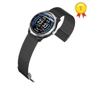 Image 5 - Neue Smart Uhr EKG + PPG Herz rate Blutdruck Überwachung IP67 waterpoof Schrittzähler Sport Fitness Armband Für Männer Frauen