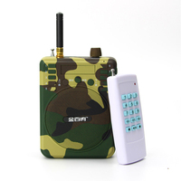 48W Camouflage Hunting Decoys Speaker Bird Caller Predator Sound MP3 Player With Remote Control Goods For