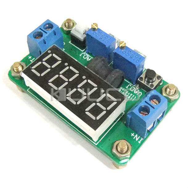 20W Buck Adjustable Voltage Regulator DC 4.5~24V to 0.93V~20V Power Supply Module DC 5V 12V Step Down Converter/Adapter/Driver nc dc dc dc adjustable voltage regulator module integrated voltage meter 8a voltage stabilized power supply