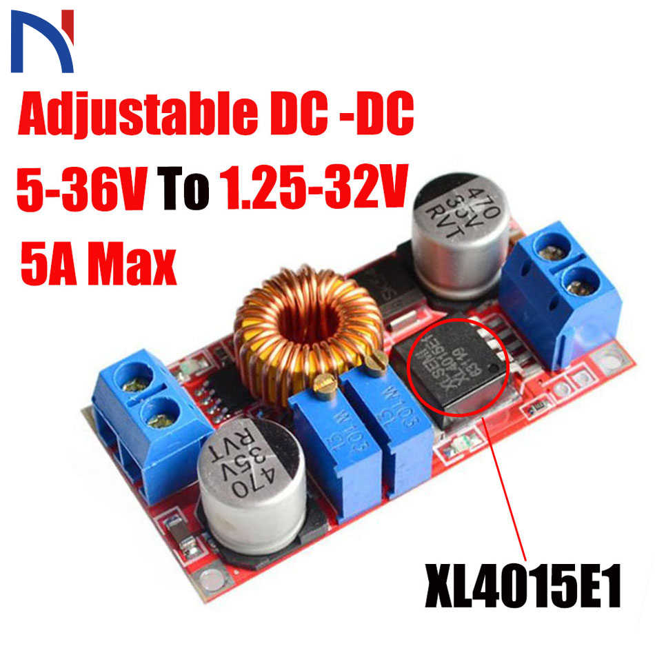 5A XL4015 E1 XL4015E1 DC to DC Lithium Battery Step down Charging Board Led Power Converter Lithium Charger Step Down Module