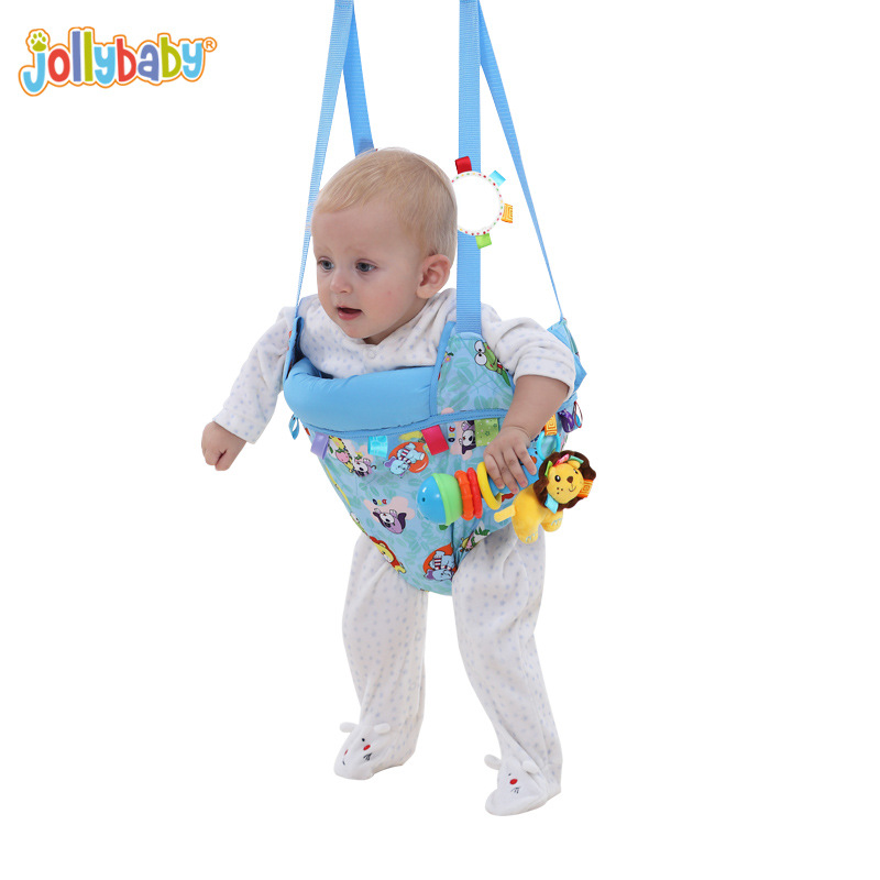 Jollybaby Toddler Toy Fitness Swing Jumping Dual-purpose Park Bebek Chairs Rocking Cradle Baby Jumpers And Bouncers YYT501 2017 new babyruler portable baby cradle newborn light music rocking chair kid game swing