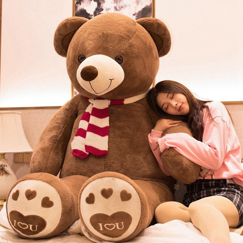 Nouvelle grande taille de 100 cm haute qualité amoureux en peluche ours en peluche jouets gros câlins ours poupée amoureux/cadeaux de noël cadeau d'anniversaire
