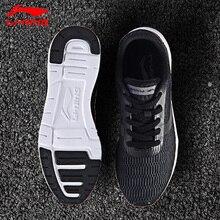 Li-Ning/Мужская прогулочная обувь с подкладкой; спортивные дышащие кроссовки; Легкая удобная спортивная обувь; AGCM041