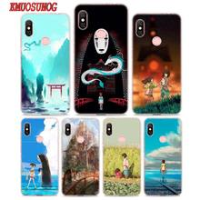 Transparent Soft Silicone Phone Case Spirited away for Xiaomi Redmi S2 Note 7 4 4X 5 5A 6 6A Pro Plus цена