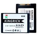 Kingrich 2.5 Pulgadas SATA II SSD de 8 GB 16 GB SATA2 Canales Disco de Estado Sólido MLC Para la computadora Portátil hdd componentes de la computadora