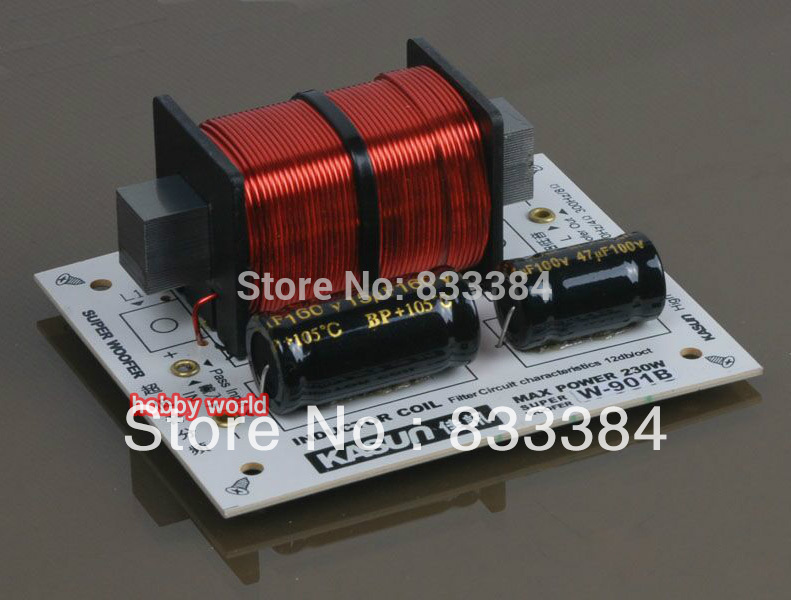 New Frequency Divider Hi-Fi Audio Crossover Filters For Bass Speaker Subwoofer free shipping