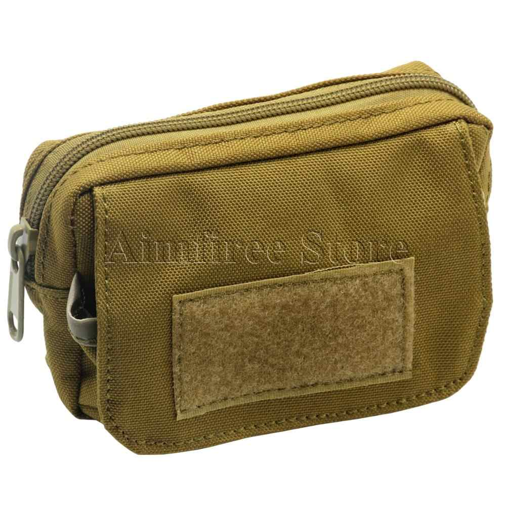 Militar Mini Saco Da Cintura Bolso Do Exército Molle Utilitário Bolsa de viagem Bolsa de Cinto Saco de Bagunça para Esportes Ao Ar Livre