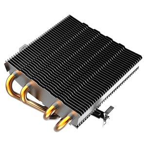 Image 3 - AIGO PC CPU Làm Mát Quạt 4 Heatpipes Quạt Tản Nhiệt CPU Tản Nhiệt Nhôm Tản Nhiệt Làm Mát CPU cho SOCKET LGA/115X/AM3/AM4/1366/2011