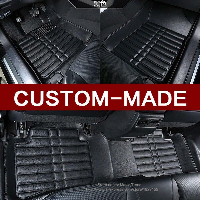 Custom make special car floor mats for Audi Q3 3D heavy duty waterproof all weather car styling rugs carpet floor liners(2011-) custom fit car floor mats for toyota yaris 3d special all weather heavy duty car styling leather carpet floor liners 2005 now