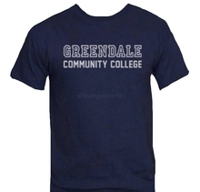 76b421f7d Greendale Community College T-Shirt-Funny Shirt from Community Men Funny  casual streetwear hip