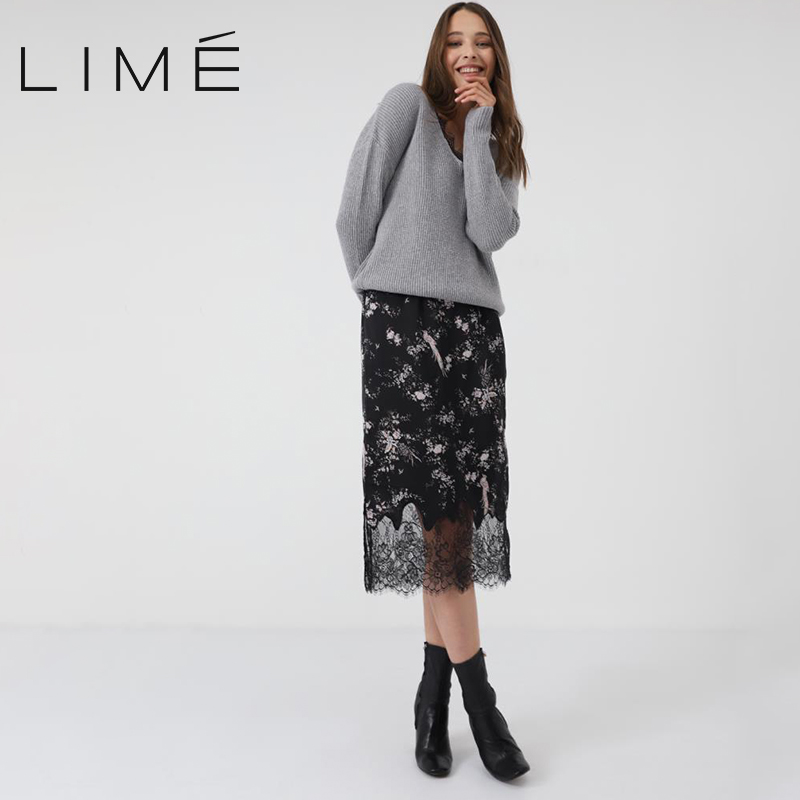 Lace trimmed skirt 311|2104|232 straw weaving chain trimmed clutch bag