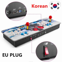 999 в 1 видеоигр консоли android машины двойной палки Pandora ключ ЕС Plug корейский для дома Вечерние K ТВ бар mimu ТВ PC