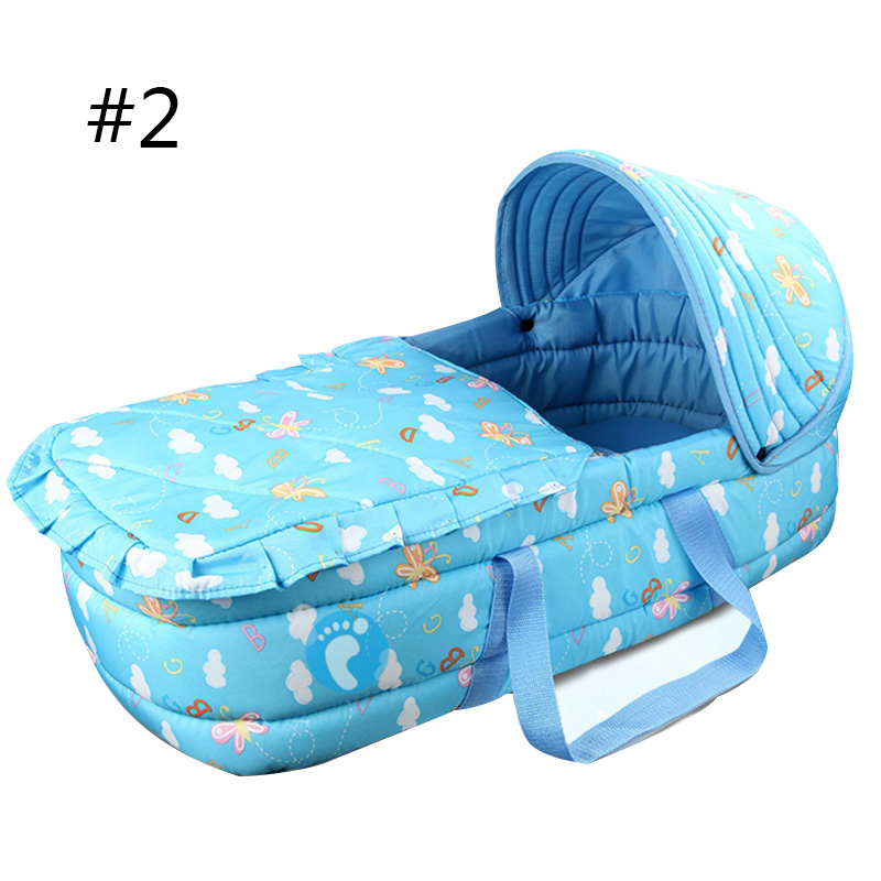 Baby Bed Portable Baby Bassinet Bed for 0-7Month Baby Basket Comfortable Newborn Travel Bed Cradle Safety Infant Bassinet Crib 1pcs jollybaby brica portable folding travel bassinet baby bed baby crib bed on the go infant bed