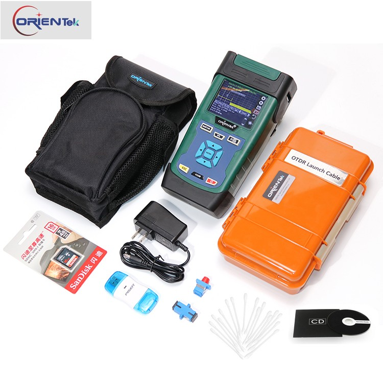 Orientek K330 Mini OTDR 1310/1550nm 32/30dB with Free 500m Lacunh Cable Box Fiber Optic OTDR Tester FEDEX 5-10 Days