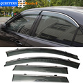 Car Stylingg Awnings Shelters 4pcs/lot Window Visors For Mazda 6 Sedan 2006-2016 Sun Rain Shield Stickers Covers