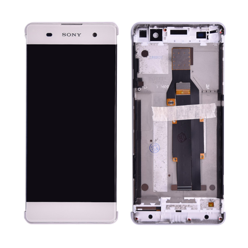 US $14 9  Original For Sony Xperia XA F3111 F3113 F3115 LCD Display with  touch Screen display Digitizer Assembly with frame Free Shipping-in Mobile