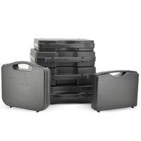 Caja de herramientas de plástico portátil  caja de equipo de Seguridad al aire libre  caja de instrumentos  contenedor  funda de transporte con esponja precortada