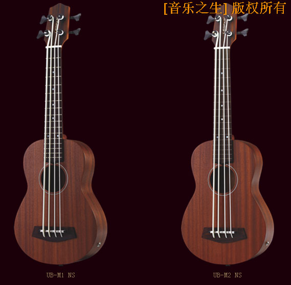 купить 30' 16 Frets mahogany/KOA wood ukulele bass guitar with 2 Band EQ UK-300T (UKULELE-BASS) (UB-M1 NS/UB-M2 NS / UB-K1 NS/UB-K2 NS) по цене 27177.92 рублей