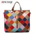Подлинная кожаная сумка женщины сумка почтальона сумочки роскошные сумки женские сумки дизайнер большой топ-ручки сумки на плечо дамы натуральной кожи 4