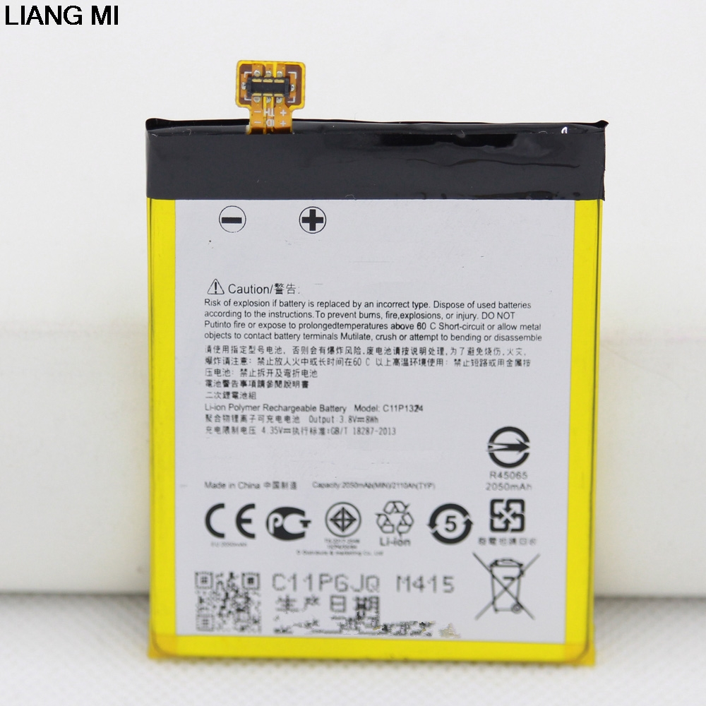 2110mAh C11P1324 cell phone Battery For <font><b>ASUS</b></font> <font><b>Zenfone</b></font> <font><b>5</b></font> T00j <font><b>A501CG</b></font> <font><b>A500CG</b></font> A501 with repair tools for gift image