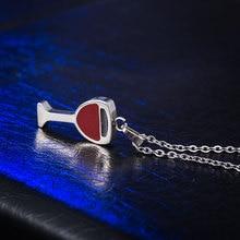 Women's Wine Glass Necklace