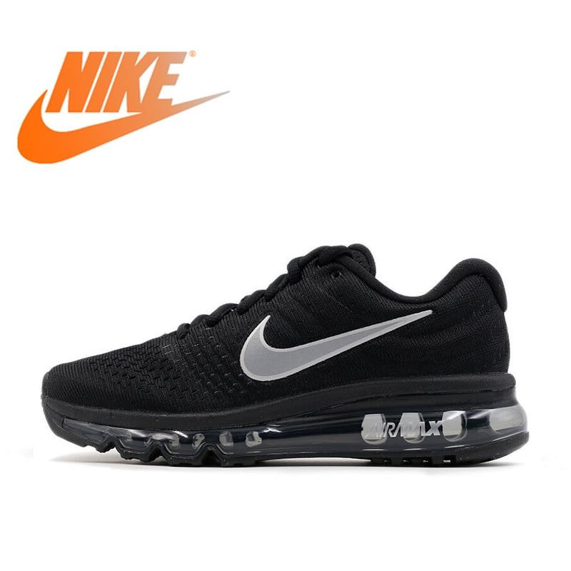 Оригинальный Официальный Nike Air Max 2017 дышащая для мужчин's кроссовки спортивные спортивная обувь зимние air подушки обувь уличная