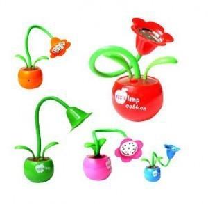apple blossom lamp USB or battery powered led table lamp lovely creative gift apply flower led flexiable desk light