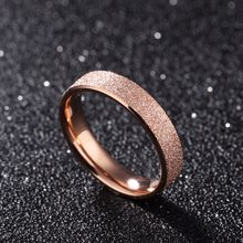 Modyle Fashion Jewelry High Quality 316L Stainless Steel Rings Dull Polish Single Ring Wedding Ring Engagement Ring(China)