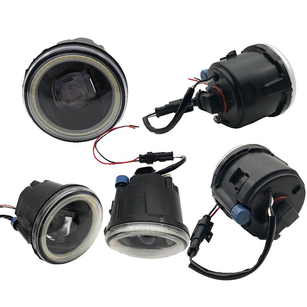 2 個 LED フォグランプアセンブリ 20 ワットフォグライト日産エクストレイル T31 ジューク Vampira クエスト 2007  2014 Led フォグランプ Drl ランプ  グループ上の 自動車 &バイク からの カーライトの組み立て の中 2
