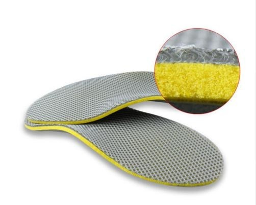 1 Pair of 3D Premium Comfortable Orthopedic Insoles Flat-footed Insoles Arch Support Insole Orthopedic Inserts High Support Arch Pad Foot Care