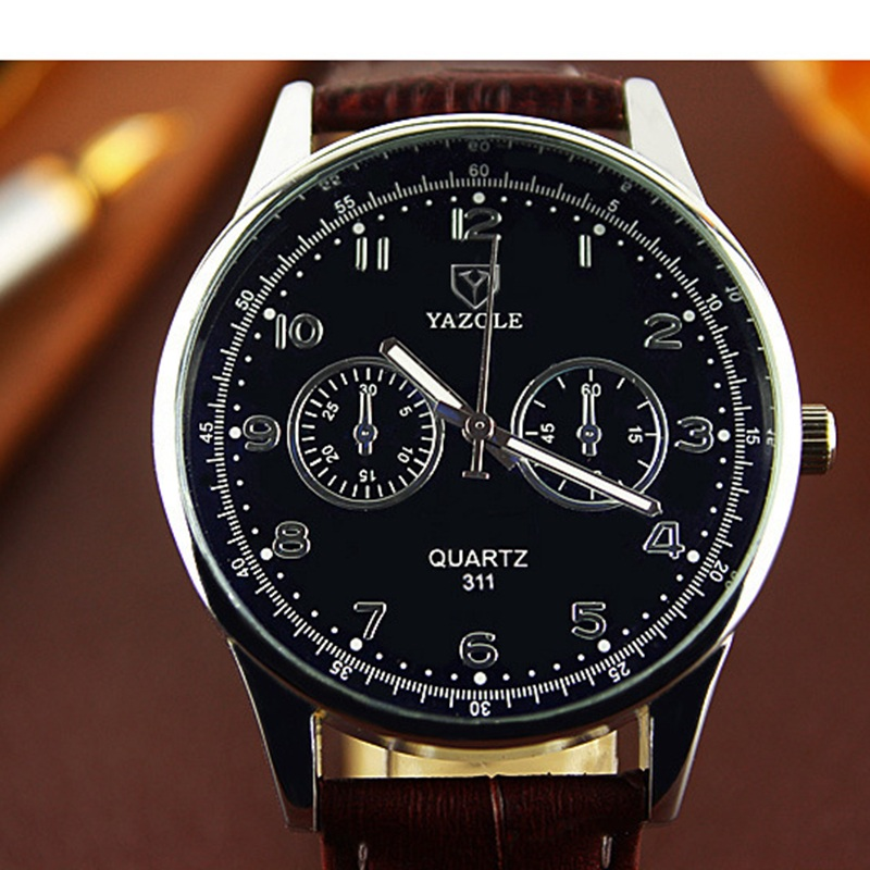 2016 Wrist Watch Men Watches Top Brand Luxury Popular Famous Male Clock Quartz Watch Business Quartz-watch Relogio Masculino xinge top brand luxury leather strap military watches male sport clock business 2017 quartz men fashion wrist watches xg1080