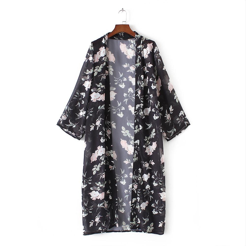 Naiste pikkade varrukatega kimono / kardigan 3