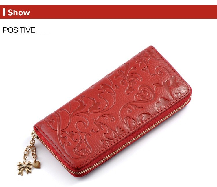 Floral Embossed Leather Women's Wallet Bags and Wallets Best Seller Hot Promotions Women's Wallets