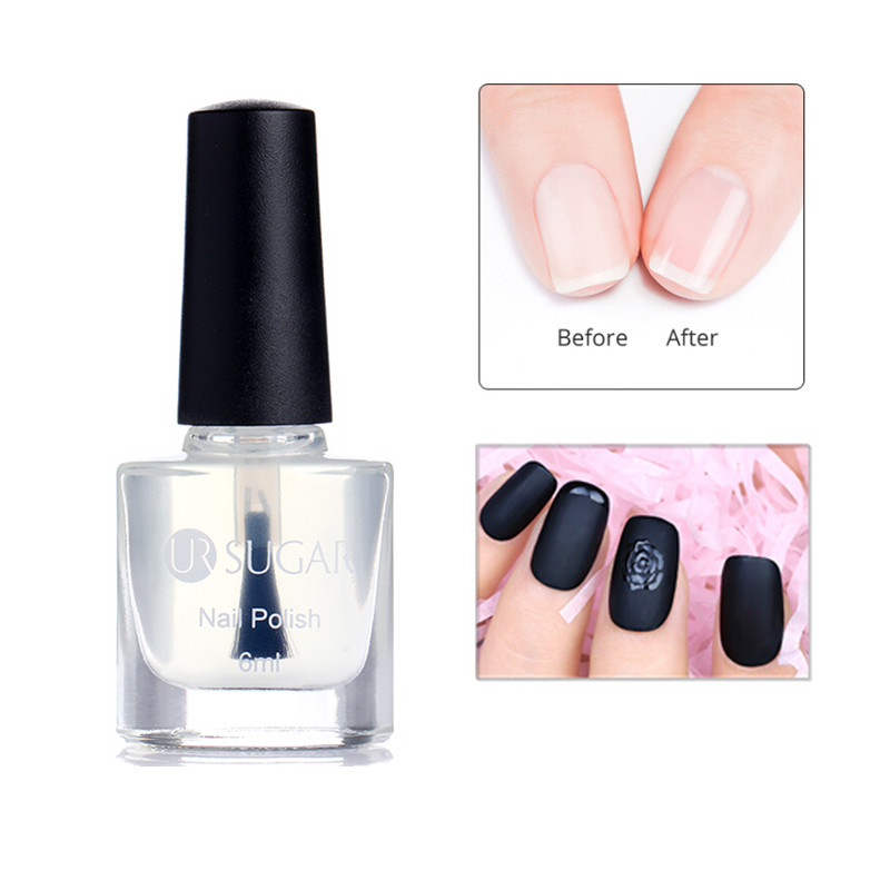 Ur Sugar 6ml Water Based Nail Base Coat Matte Top Glossy Oil Fruity Dry Easily Manicure Art Lacquer Varnish Polish In From Beauty