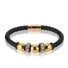 Janeyacy популярный высококачественный мужской браслет Индивидуальный