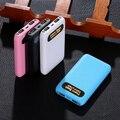 Kabeite ultra fino 10000 mAh 2USB banco do poder carregador de bateria de backup externo carregador de bateria universal de carregamento do telefone móvel