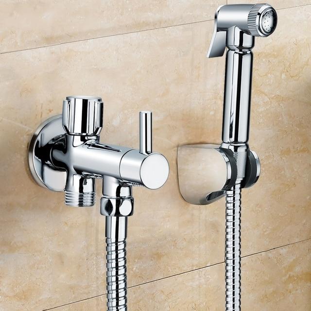 Aliexpress Com Buy Toilet Brass Hand Held Bidet Spray Shower Head