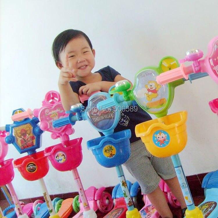 Livraison gratuite enfants scooter 3 roues PU pour 3-10 ans enfants max charge 50 kg