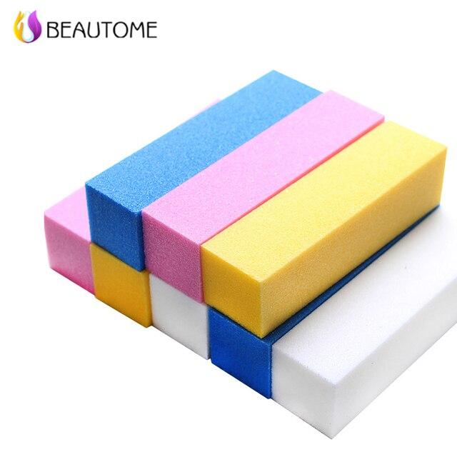 Beautome Sanding Nail File Buffer Block For UV Gel Nail Polish Nail ...