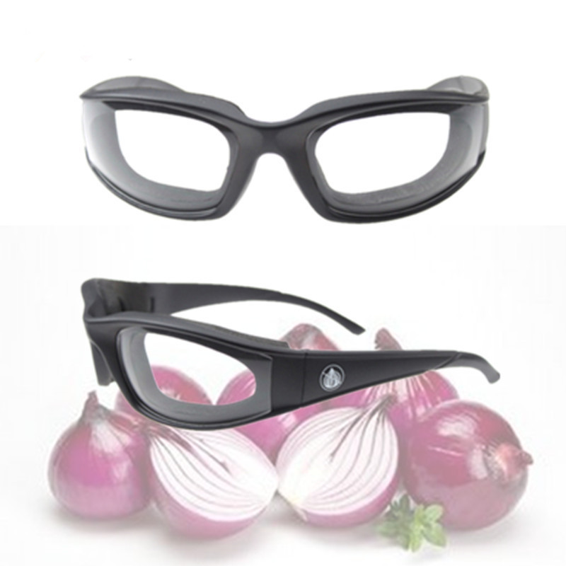 MOM'S HAND Kitchen Tools Onion Cutter Goggles Onion Tear Free Glasses Chopping Eye Protector Glasses 2