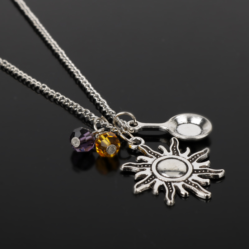 Game Battlegrounds PUBG Pendant Necklace Male Jewelry Pan Model Weapon Tag Necklace For Men
