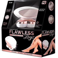 FLAWLESS LEGS TV Hot Selling Rechargeable Epilator For Man And Woman Use Body Hair Removal Device