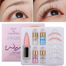 2017 New Brand Eyelash Perm Kit Lash Eye lash Wave Lotion Curling Perming Curler Perm Kit