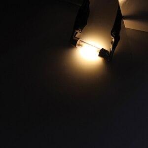 Image 5 - 31mm 36mm 39mm 41mm C5W LED Festoon Lamp 12V DE3022 6418 COB LED Filament Instrument Dome Bulb Light White Warm White Blue 2pcs