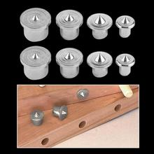 8pcs Center Dowel Tenon Pin Wood Points 6/8/10/13mm Center Set Alignment Points For Drill Hole Pin Woodworking Tool