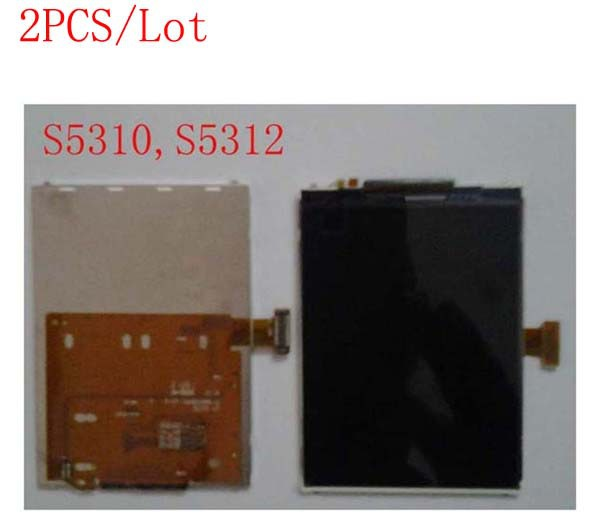 (SS2AS531002AM)(Warranty 6 Months)(2PCS by AM DHL EMS)100% Top Quality Guarantee for Samsung S5310 S5312 LCD Screen Display